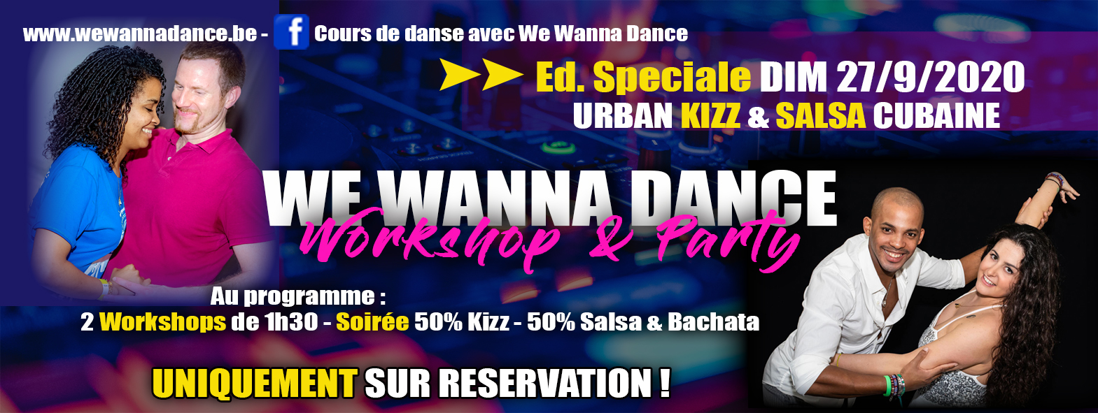 Workshop & Party - Ed. Spéciale Urban Kizz & Salsa Cubaine
